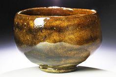 【古美味】十代大樋長左衛門(年朗)作 茶碗 茶道具 保証品
