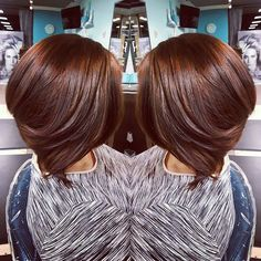 Top 100 chocolate brown hair photos #myhairbizness #balayage #color  #chocolatebrownhair #hair #haircut #shorthair #bob #haircuts #hairstyles See more http://wumann.com/top-100-chocolate-brown-hair-photos/