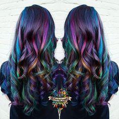 galaxy hair …