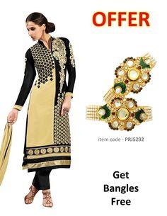 Buy Pastel Yellow & Black Party Wear Salwar Kameez online at  https://www.a1designerwear.com/pastel-yellow-black-party-wear-salwar-kameez  Price: $42.83 USD