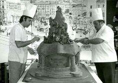Any 1978,Antoni Escribà, pastisseria Escribà, gran Via,BARCELONA