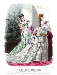 Les Modes Parisiennes 1874