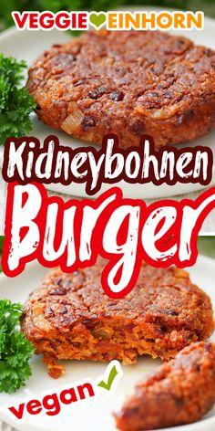 Vegan Burger Recipe Easy, Easy Healthy Recipes, Healthy Cooking, Vegetarian Recipes, Vegan Foods, Vegan Dishes, Vegan Patties, Vegetarian Burger Patties, Aesthetic Food
