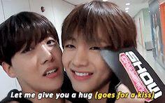 Taehyung don't avoid Hoseok's kiss~