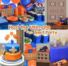 Nerf Party Ideas - Host the Ultimate Nerf Party