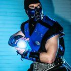 [Self] Great picture of my Mortal Kombat - Sub Zero Cosplay