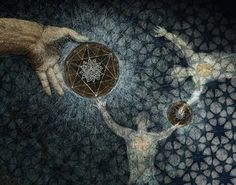 knot of creation   flower of life