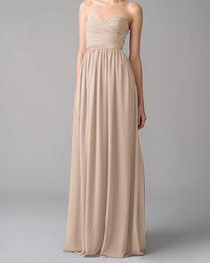 beige bridesmaid dresses online