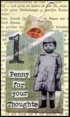 ATC card idea / Makes me wish I had a pic of my Aunt Penny right now..xo