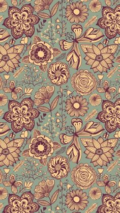 Vintage Pattern - The iPhone Wallpapers