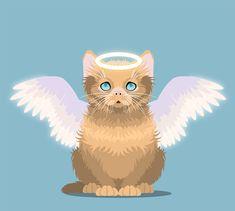 Create an Innocent Fluffy Kitten With Basic Shapes in Adobe Illustrator  #illustratortutorials #vectortutorials #adobetutorials