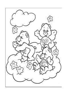 De Troetelbeertjes Kleurplaten voor kinderen. Kleurplaat en afdrukken tekenen nº 11