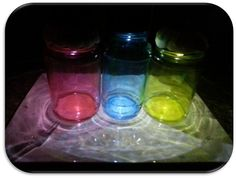 Upcycle! Turn your Spaghetti Sauce and Pickle jars into Colored Solar Lighted Gems! : Two Llamas and a Whole Lotta Drama