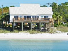 Sand Star ~ Beachfront - Mexico Beach Florida Vacation Rental Properties | Beachfront Homes and Condos with Pool in Mexico Beach Florida - Harmon Realty Vacation Rentals