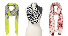 Style Guide: 9 Must-Have Pre-Season Scarves