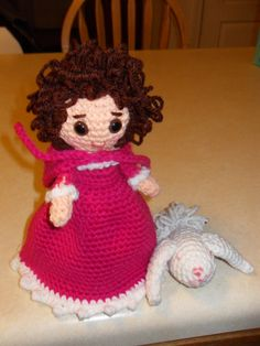 Topsy Turvey Doll and her Bunny