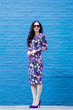 Cynthia Rowley Midi Floral Dress,