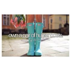 "?bucket list? on Instagram: ""hunter boots are the cutest☔️?"""