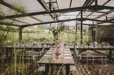 There's a magical place where the ocean meets an enchanted forest in Lisbon, Portugal. This boutique hotel and event venue has a greenhouse on the property! Garden wedding dreams. Photo: Sean Flanigan