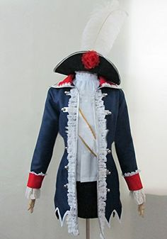 Onecos Axis Powers Hetalia Prussia Gender Conversion Cosplay Costume ** Want to know more, click on the image.