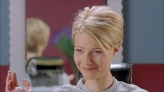 """When Gwyneth Paltrow goes from jilted and brunette to blonde and bold, it is not only one of the most empowering scenes in the film, but also a truly chic moment. Gwyneth totally captured the late 1990s–early 2000s Prada Sport look in her turtleneck sweater, grey trousers, and practical-heeled shoes while the cropped blonde cut said, 'I know I look good.' "" —Edward Barsamian, Vogue.com Contributing Style Editor - Photo: Courtesy of © Miramax Films"