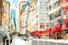 Josef Kote Original Acrylics on Canvas - There Is Light, I Can See It