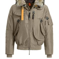 Parajumpers MASTERPIECE GOBI Down Jacket in CAPPUCCINO – Men