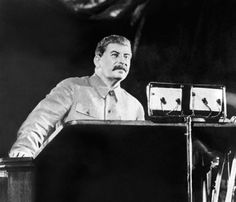 """""""We are fifty or a hundred years behind the advanced countries. We must make good this distance in ten years. Either we do it, or we shall go under"""" ~STALIN Joseph Stalin, A Hundred Years, Communism, Crazy People, The Only Way, Interview, Poster, Ww2, Collaboration"""