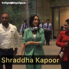 """Bollywood News & Gossips on Instagram: """"#ShraddhaKapoor Spotted at Airport . Follow us @bollywoodgaliyara . . . . . #BollywoodGaliyara #shraddhakapoorfc #shraddhakapoorvideos…"""" Shraddha Kapoor, Bollywood News, Gossip, Fictional Characters, Instagram, Fantasy Characters"""