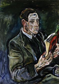 Portrait of Ludwig Adler / Oskar Kokoschka / 1914 / oil on canvas