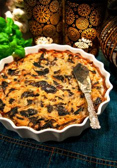 Höstig Janssonpaj Quiche, Recipies, Potatoes, Vegetarian, Vegetables, Cooking, Breakfast, Desserts, Food