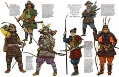 Samurai: The warrior class of feudal Japan Samurai Weapons, Samurai Warrior, Japanese History, Japanese Art, Military Art, Military History, Bushido, Samurai Artwork, Japanese Warrior