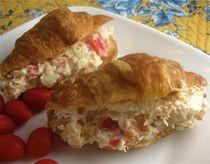 Crunchy Chicken Sandwich Spread: Chicken Parmesan Sandwiches