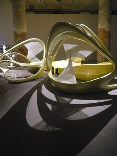 "Installation ""Lotus"" by Zaha Hadid Architects at the Arsenale pavilion"