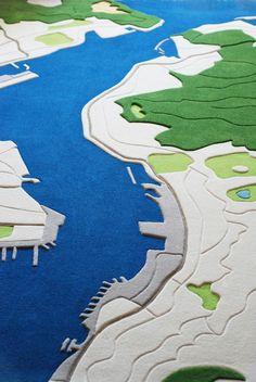 Land Carpet – Un designer imagine des tapis à partir de photos aériennes