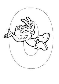 Exercices à imprimer pour les enfants. Alphabet 114