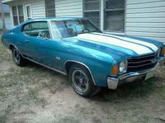 1972 Chevy Chevelle -- right paint job; wrong year.  Sometimes, I really do miss that car!