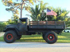 "Custom Built M35A2 Deuce 1 2 Military Vehicle Custom 5"" Lift 53"" Tires | eBay 6x6 Truck, Shtf, Custom Trucks, Big Trucks, Military Vehicles, Offroad, Cars Motorcycles, Cool Cars, Monsters"