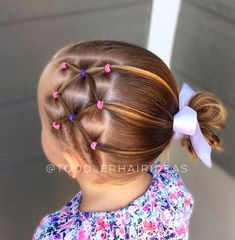 895 Likes 17 Comments Cami Toddler Hair Ideas ( on Instagr Half Braided Hairstyles, Easy Toddler Hairstyles, Flower Girl Hairstyles, Easy Little Girl Hairstyles, Updo Hairstyle, Braided Updo, Winter Hairstyles, Cool Hairstyles, Kids Curly Hairstyles