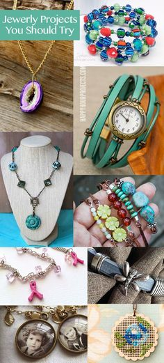 Jewelry craft projects you should try