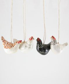 Our lovely feathered ladies are ready and eager to nestle among the branches of your tree this Christmas ;)