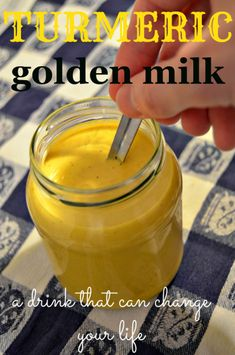 Turmeric golden milk, a drink that can change your life