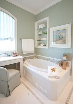 Beach Vacation Home - traditional - bathroom - houston - Creative Touch Interiors