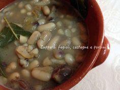 Vi assicuro che questa zuppa di fagioli, castagne e porcini è davvero fantastica!! Un comfort food che vi coccolerà lo stomaco e il cuore!