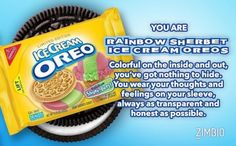 Which Bizarre Oreo Flavor Are You?Yummy I had never tried this flavor before.