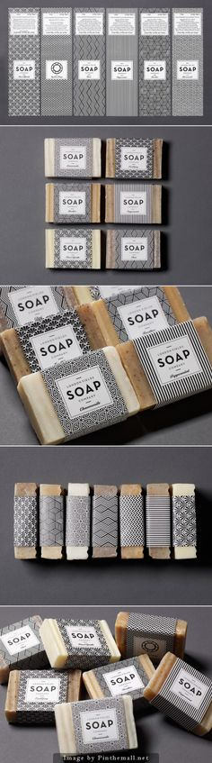 I know it's soap, but there's something nice about the clean yet trippy quality of the labels. Agency: One Darnley Road Designer: Roisin McAvinney Client: London Fields Soap Company Type Of Work: Commercial Work Country: United Kingdom Graphisches Design, Label Design, Graphic Design, Graphic Art, Package Design, Hangtag Design, Design Elements, Logo Design, Design Ideas