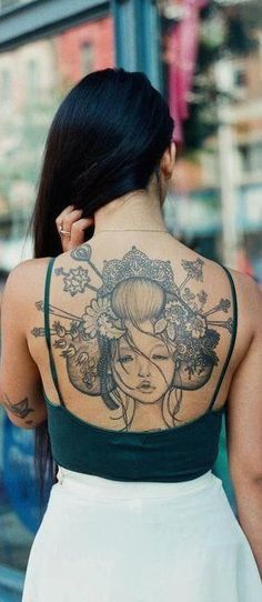 Geisha is an age old art which is now gaining popularity in tattoos. Geishas, the Japanese entertainers can be depicted in form of geisha tattoos. Japanese Cloud Tattoo, Japanese Demon Tattoo, Japanese Hand Tattoos, Japanese Back Tattoo, Japanese Flower Tattoo, Chinese Dragon Tattoos, Japanese Tattoo Designs, Dragon Hand Tattoo, Japanese Tattoo Women