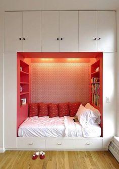 Un pequeño espacio muy acogedor