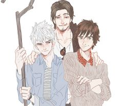 Jack, Eugene and Hiccup