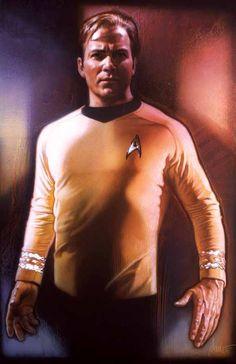 Captain Kirk / Drew Struzan